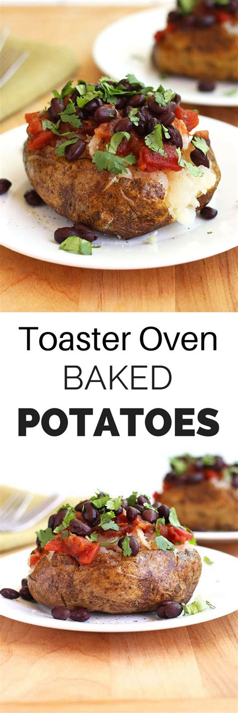Baked Potatoes In Toaster Oven how to toaster oven baked potatoes recipe toaster