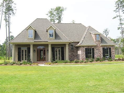 Southern Style House Plans by 413 South Fairway Drive Bedico Creek Ron Lee Homes