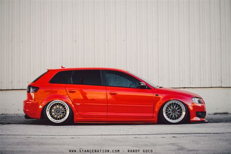 slammed audi a3 ridiculously clean audi stancenation form gt function