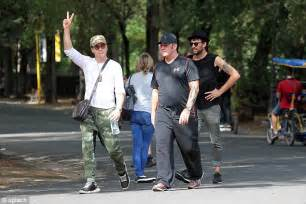 robert downey jr friends robert downey jr tries to blend in with camouflage