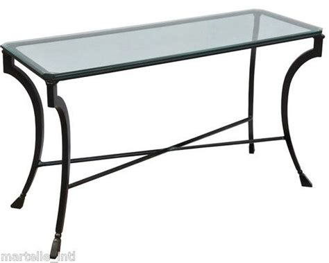 Sofa Table With Glass Top by Glass Top Sofa Table Costa Home