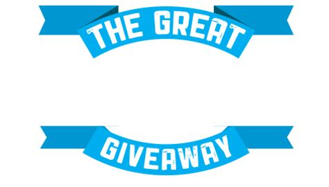 Giveaway Logo - the great rider rewards giveaway powered by more than rewards