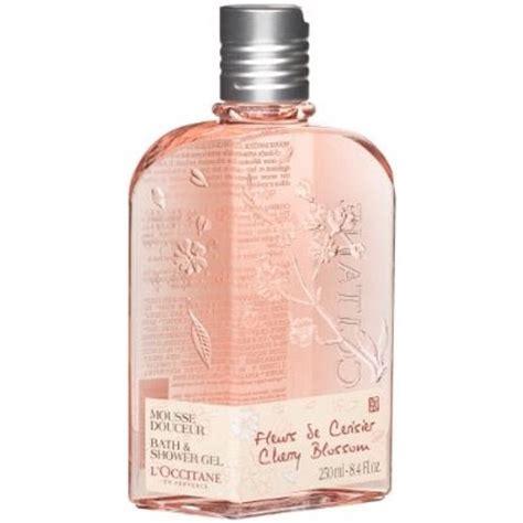 premier health l occitane mousse douceur fleurs de cerisier bath shower gel