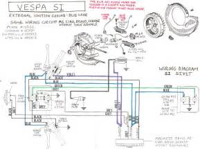 vespa 50cc scooters wiring diagram