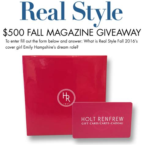 Giveaway Magazine - decor magazine sweepstakes 28 images the glam guide instyle magazine makeup