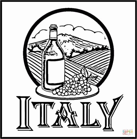 italy coloring pages italian coloring page coloring home