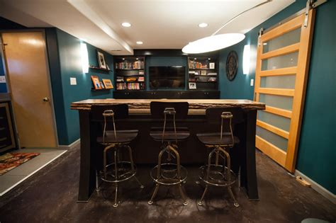 bar  stools adds extra seating   small room