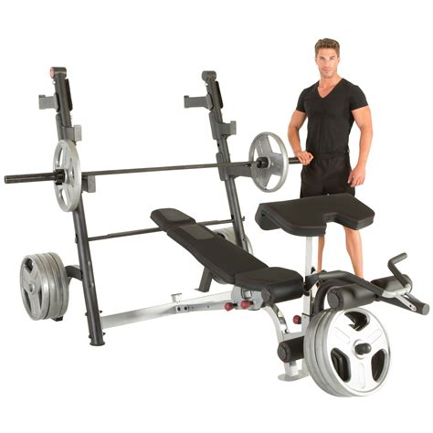 preacher curl weight bench ironman x class weight bench with preacher curl and leg