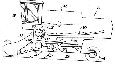 combine harvester parts diagram file combine parts jpg wikimedia commons