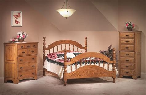 amish white oak bedroom suite