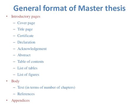 thesis master now master thesis tables