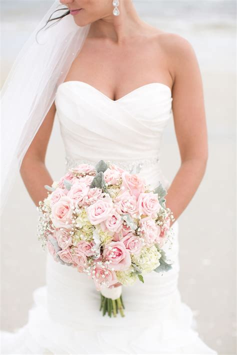 Wedding Bouquet Baby S Breath by Hydrangea And Baby S Breath Bridal Bouquet