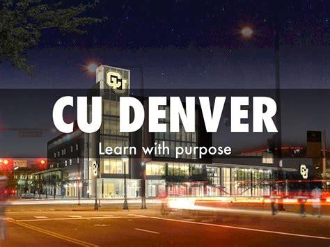 Cu Denver Mba Degree Plan by Cu Denver By Rodriguez Ernesto2012
