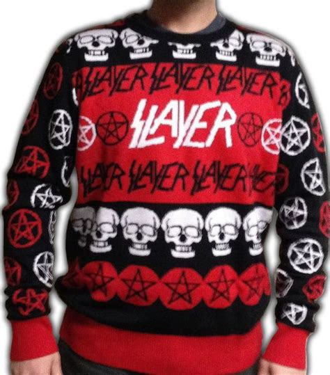 metallica xmas jumper kerry king of slayer on the ugly slayer christmas sweater