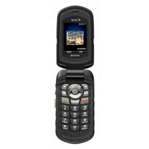 rugged sprint phones kyocera duramax e4255 rugged flip cell phone for sprint like new mobilecellmart