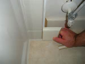 Bathroom Tile Floor Wall Transition Bathroom Tile Floor With Baseboard Also Bathroom Tile