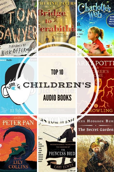 s voice books top ten children s audio books for and families