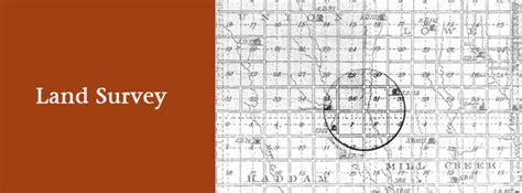 Are Property Surveys Record Records Kansas Historical Society
