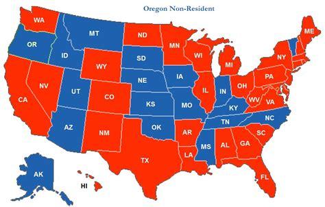 texas chl map reciprocity map map3