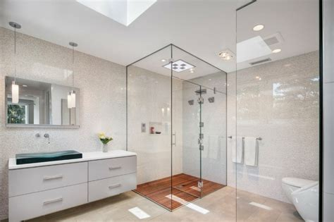glas wand badezimmer 120 moderne designs glaswand dusche archzine net