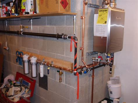 Tankless Water Heater Plumbing by Newly Install Noritz Tankless Water Heater From Docs