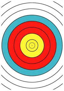 archery targets printable pictures to pin on pinterest