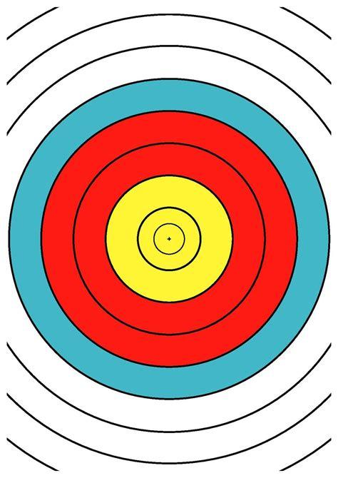 printable targets a4 archery 40 cm printable targets clipart best