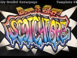 graffiti coverpage typography design art lesson