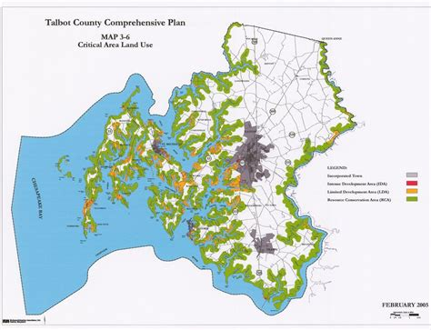 maryland area map protected areas of maryland by county