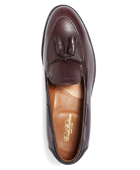 brothers tassel loafer brothers tassel loafers in brown for lyst