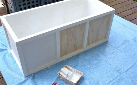 outdoor storage bench diy diy waterproof outdoor storage bench quick woodworking