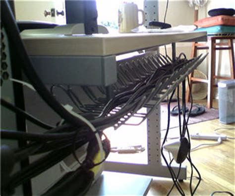 Hide Computer Cables Desk by Until Wednesday Calls Reader Question Diy Hiding Cables