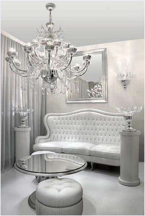 Silver Home Decor argent d 233 cor and chambres 224 coucher blanches on pinterest