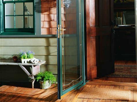 porch doors lights  fans hgtv