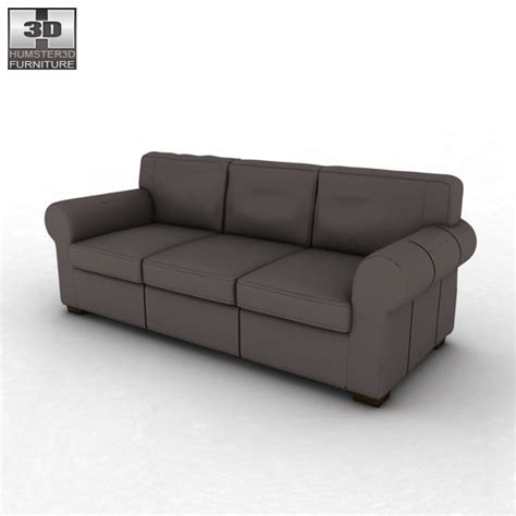 ektorp three seat sofa ikea ektorp three seat sofa 3d model hum3d