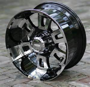 8 Lug Truck Wheels Rims 17 Inch Black Diamo 17k Wheels Chevy Hd Gmc Dodge 2500