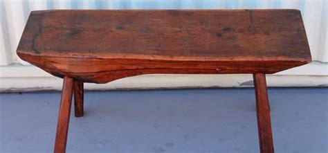 split log bench for sale early 19th century split log redwood bench or table for