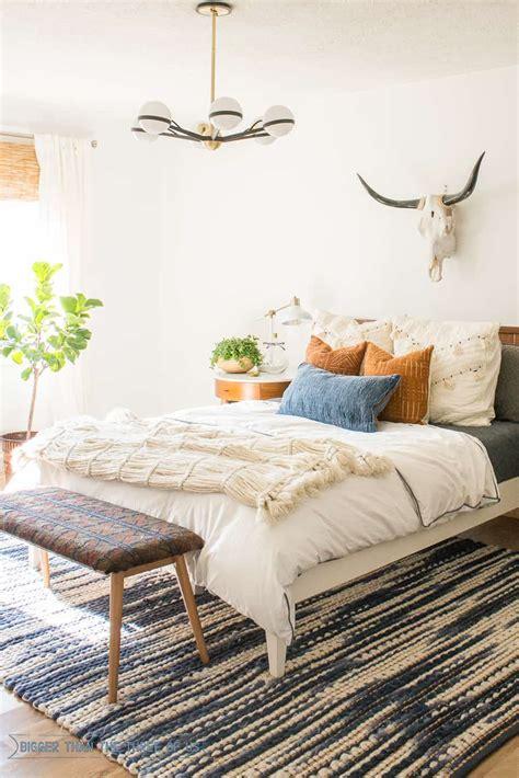 mid century bedroom reveal bigger