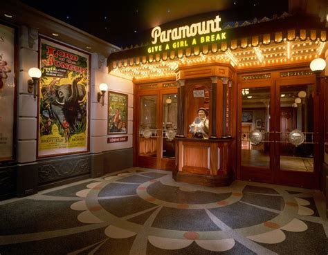 paramount themed home theatre entrance media room