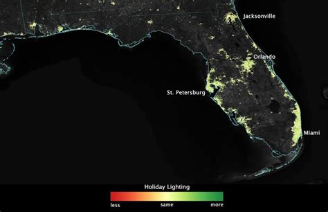 holiday lights so bright you can see them from space