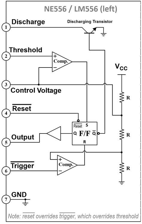 Best Quality Ne556n Ne556 Ne 556n 556 Timer Dual Ic Dip 14 Pin Bh27 555 to 556 pinout wiring diagrams wiring diagram schemes