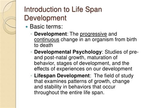 biography development definition developmental psychology essays human growth and