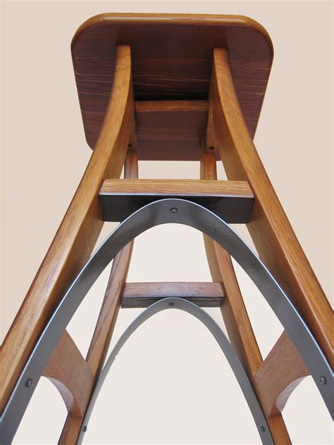 Can Wine Cause Stool by Eiffel Barstool Recycled Oak Wine Barrel High Stool