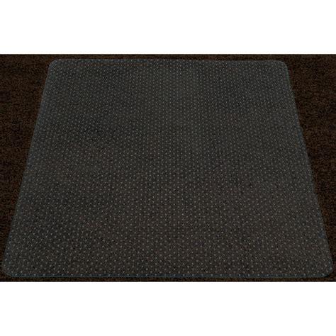36 x 48 rug ottomanson grip clear 36 in x 48 in vinyl carpet chair mat ccm 36x48 the home depot