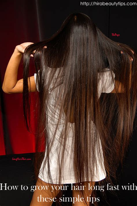 10 ways to grow long hair fast how to grow your hair long fast with these simple tips
