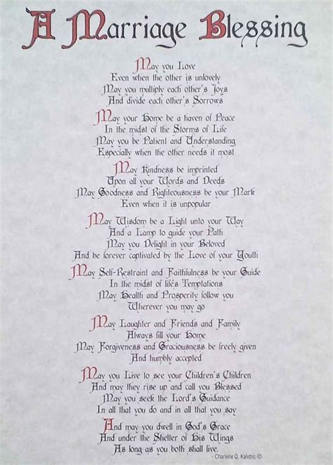 Wedding Wishes Poem by Catholic Wedding Poems Poems