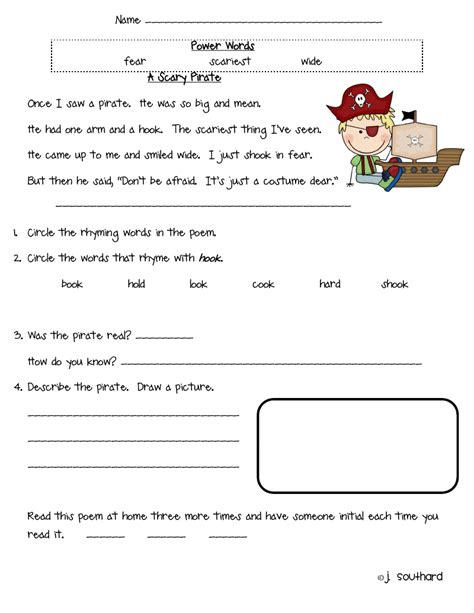 printables free comprehension worksheets for grade 2