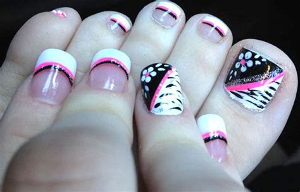 imagenes de uñas bonitas para los pies 17 mejores ideas sobre u 241 as de pies pintadas en pinterest