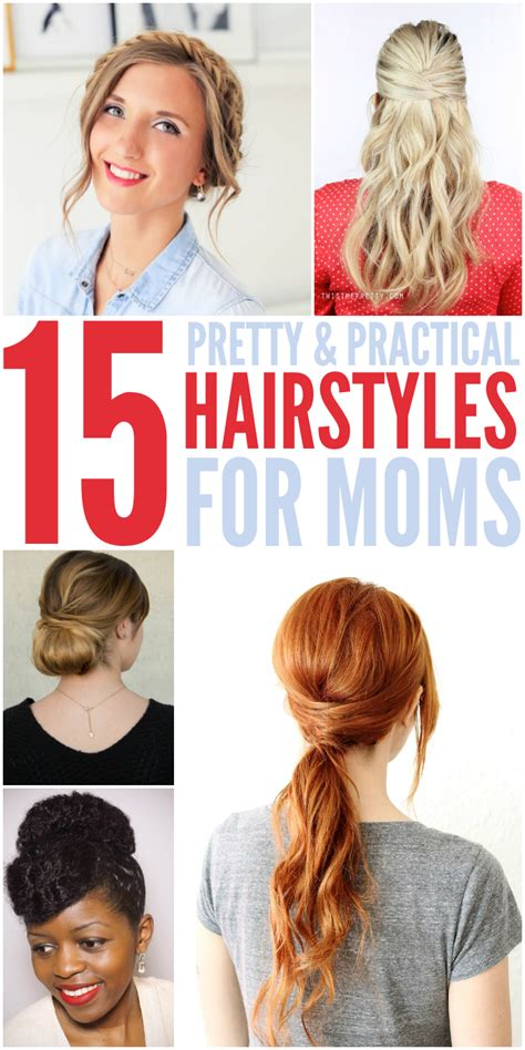working moms mediun hairstyle 15 quick easy hairstyles for moms who don t have enough time