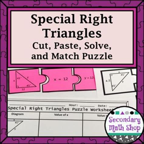 special  triangle activities   missing  pinterest